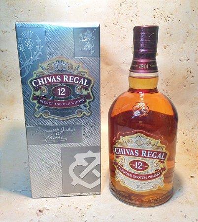 Whisky Chivas Regal 12 anos 1 litro