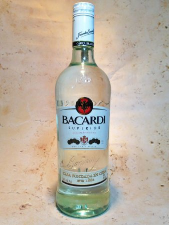 Rum Bacardi Superior Silver 980ml