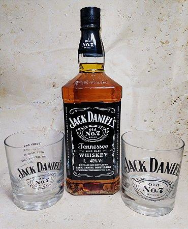 Jack Daniel's 1 Litro C/2 copos