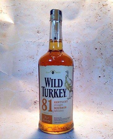 Whisky Wild Turkey 81 Bourbon 1 Litro