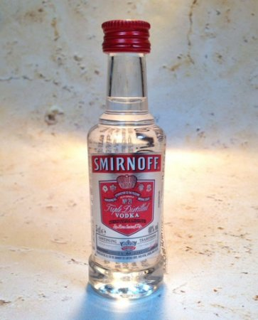 Vodka Smirnoff Miniatura 50 ml