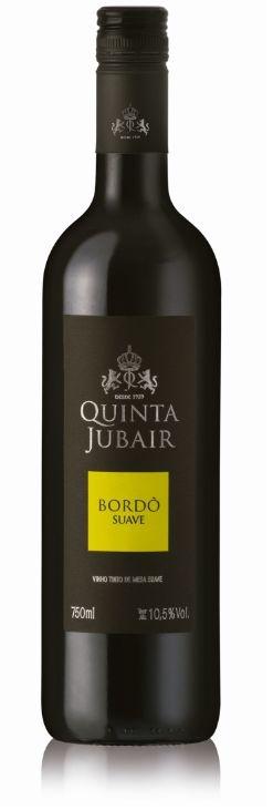 Vinho Quinta Jubair Bordo - Tinto Suave 750ml