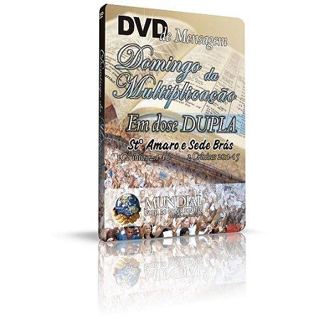 DVD - Domingo da Multiplicação - Em dose DUPLA