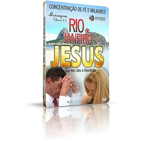 DVD - Concentração de Fé e Milagre no Rio de Janeiro