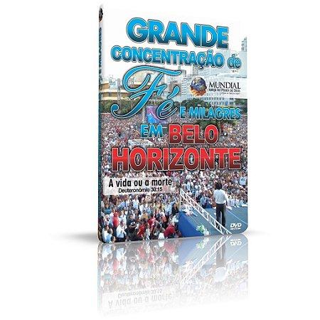 DVD - Grande Concentração de Fé e Milagres em Belo Horizonte