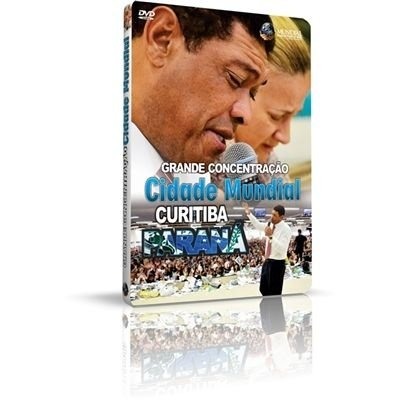 DVD - Grande Concentração Cidade Mundial Curitiba Paraná