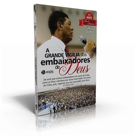 DVD - Duplo A Grande Vigília dos embaixadores de Deus