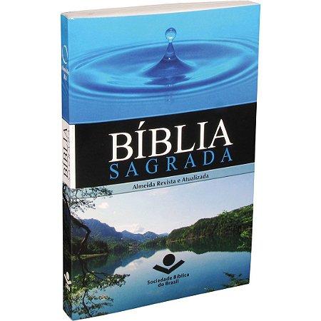 Bíblia Sagrada RA Tradicional Azul