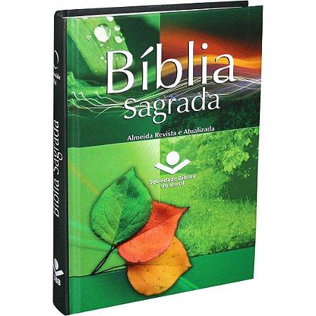 BÍBLIA SAGRADA Capa Tradicional Verde