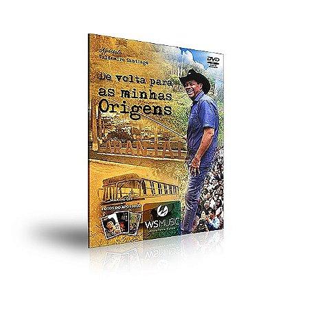 DVD - APÓSTOLO VALDEMIRO SANTIAGO- DE VOLTA PARA AS MINHAS ORIGENS