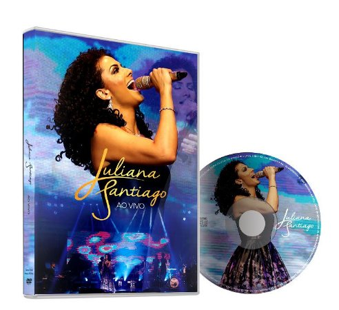 DVD - Juliana Santiago AO VIVO
