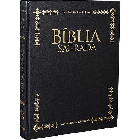 Bíblia Sagrada com Letra Extragigante-Púlpito