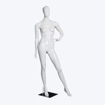 Feminina Elegante mão na cintura