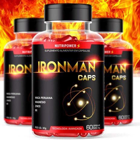 R7 >> Iron man caps funciona ?depoimento como tomar Preço onde comprar Iron man caps
