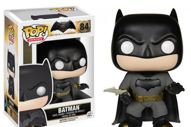 Batman Vs Superman Boneco Batman Pop Funko 10cms #84