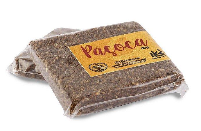 Paçoca de Amendoim com Cacau  40g  *Produto Vegano*
