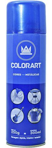 SPRAY CORES METÁLICAS COLORART