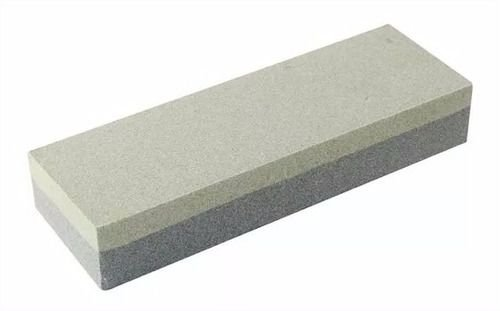 Pedra Afiar Faca Dupla Face 15 cm
