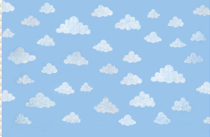 Fundo Fotográfico Nuvens de Giz