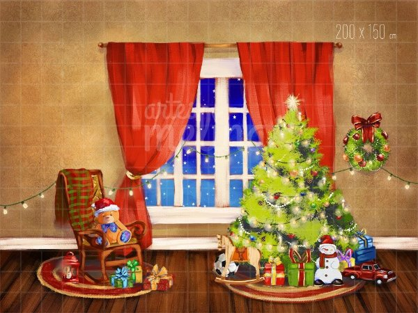 Fundo Fotográfico Festa de Natal