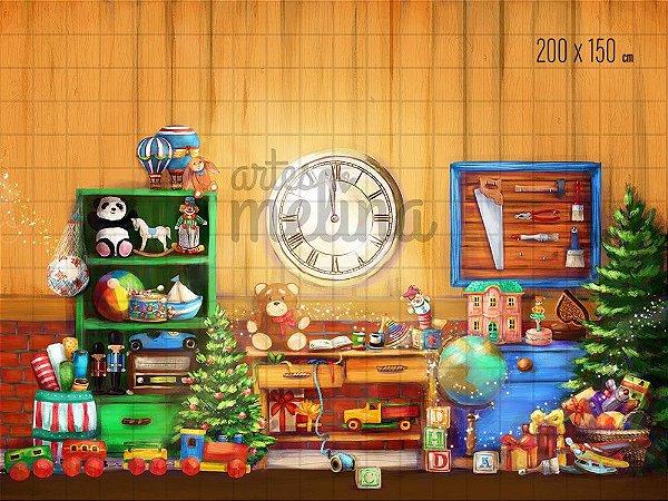 Fundo Fotográfico Oficina do Papai Noel