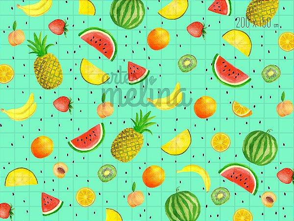 Fundo Fotográfico Salada de Frutas