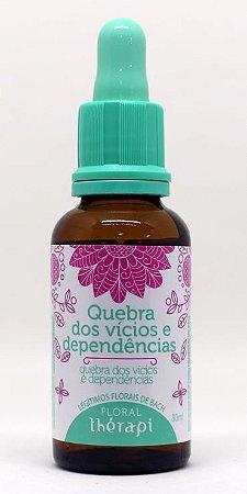 FLORAL VÍCIOS E DEPENDÊNCIAS THÉRAPI 30 ml