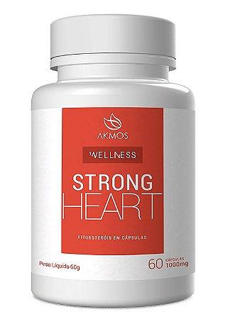 STRONG HEART NUTRIÇÃO 60 CÁPSULAS AKMOS 1000mg