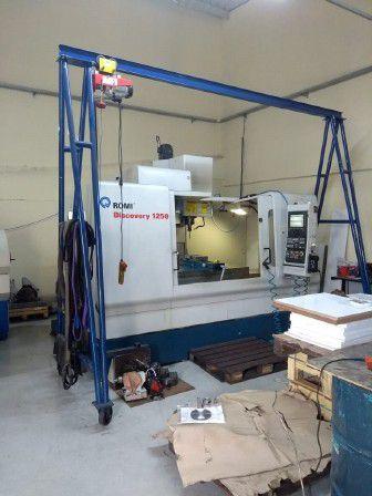 Centro de usinagem vertical ROMI DISCOVERY 1250