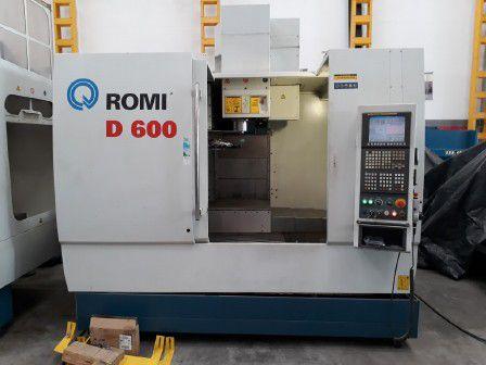 DUPLICADO - Centro de usinagem vertical ROMI D-600