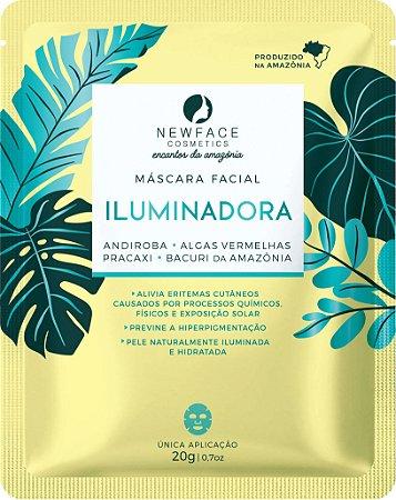 Máscara Facial Iluminadora 20g – New Face