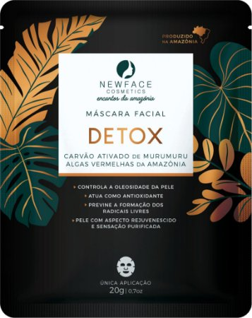 Máscara Facial Detox 20g – New Face
