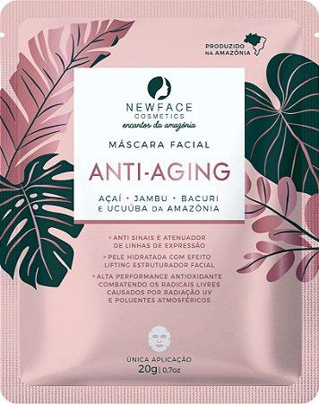 Máscara Facial Anti Aging 20g – New Face