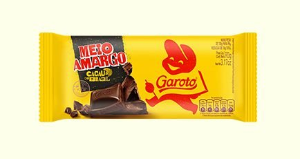 Tablete Meio Amargo 90g