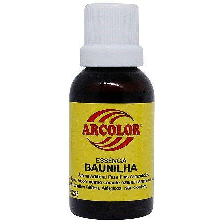 ESSÊNCIA DE BAUNILHA ARCOLOR - 30 ml