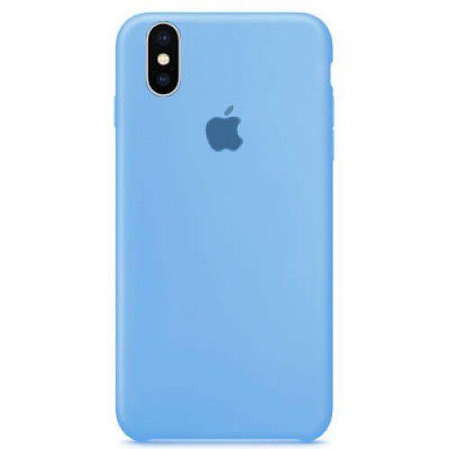 Capa Silicone Apple iPhone X Azul Claro - TOPMAXX 645d6a4951