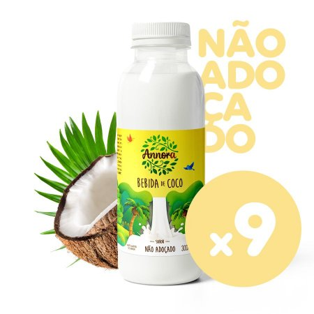 Coco Não Adoçado 300ml (Cx c/ 9)