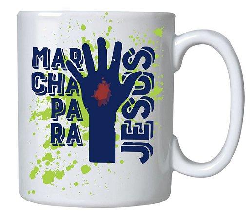 Caneca Cerâmica Marcha Para Jesus 2017 - 350 ML