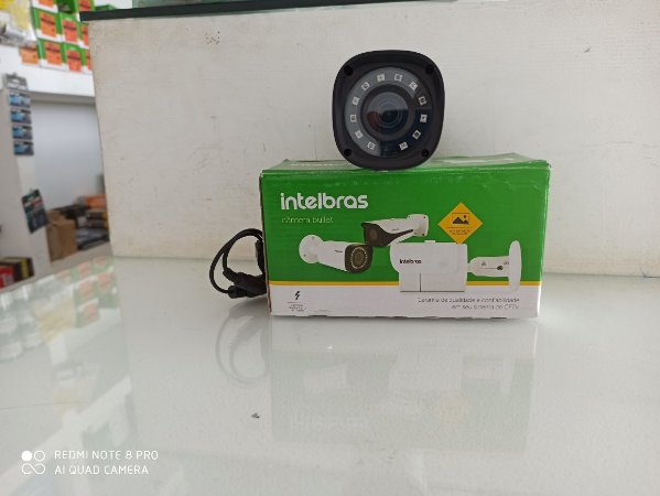 Câmera Intelbras Bullet Multi HD 1010B G4 Alta Definição (1.0MP   720p   3.6mm   Plast)