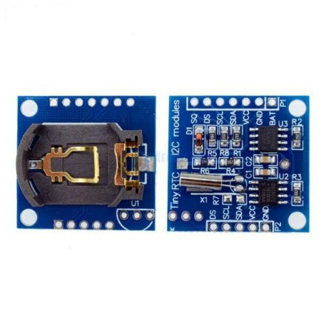 Módulo Rtc Relógio Tempo Real Ds1307 + Eeprom 24c32 Arduino