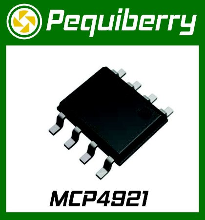 Mcp4921 Dac 12bits Spi Conversor Digital Analogico