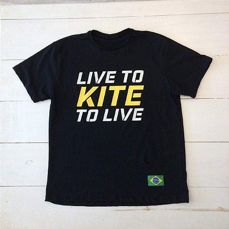 Camiseta  Live to Kite