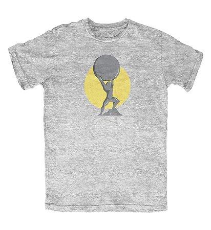 Camiseta Atlas Cinza Mescla