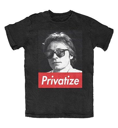 Camiseta Privatize Preta