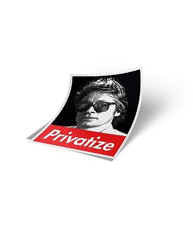 Adesivo Privatize (8x6cm)