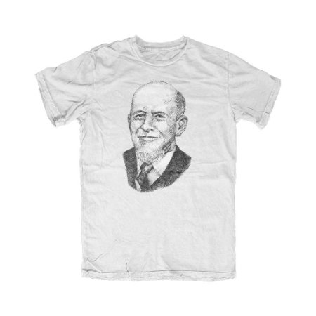 Camiseta Portrait Lachman Branca
