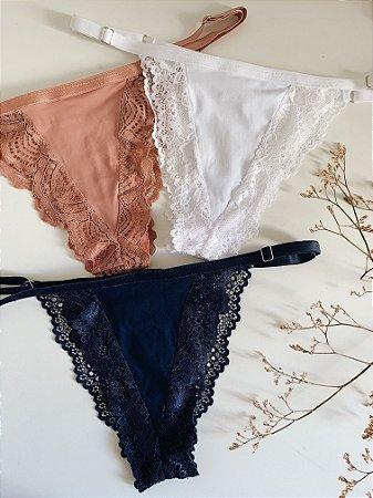 KIT Dalila -Rosé / Azul / Branco