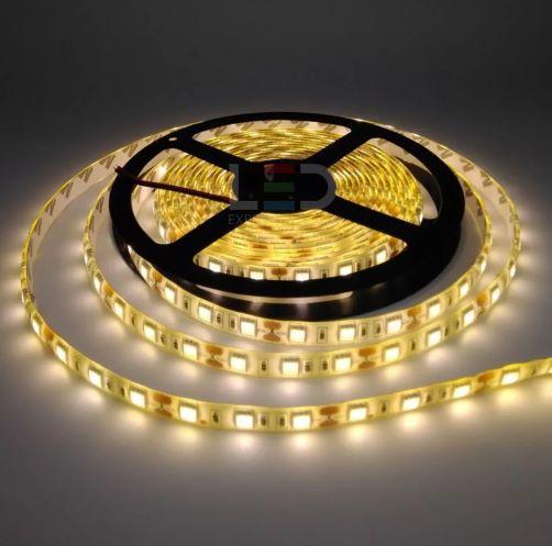 FITA DE LED 5050 BRANCO QUENTE IP65