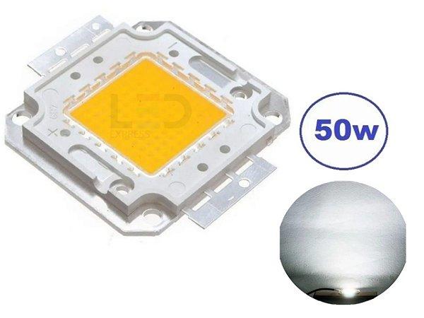 CHIP LED 50W 6500K BRANCO FRIO (REPOSIÇÃO)