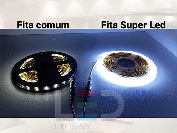 FITA SUPER LED 5054 IP20 120L BRANCO FRIO